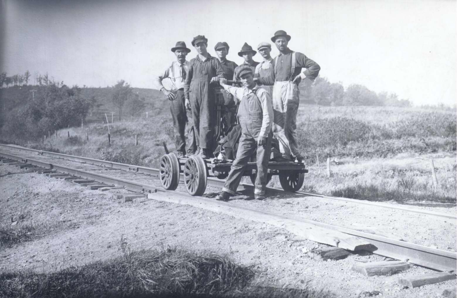 Railroad Crew at White Bear ca